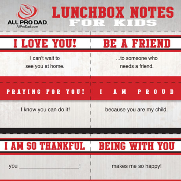 new lunchbox notes