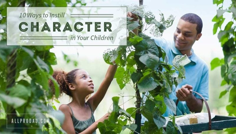character in your children
