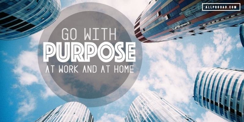 go with purpose