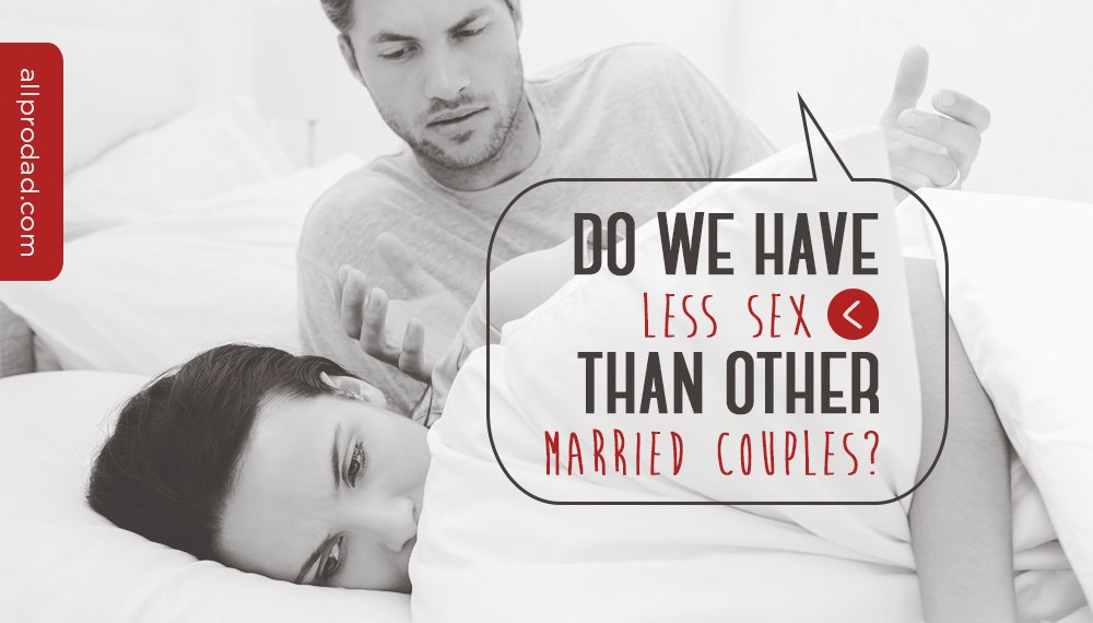less sex than other married couples