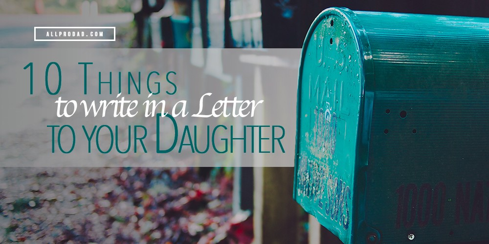 letter from father to daughter