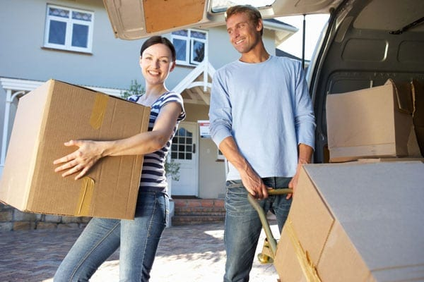 Unmarried couple moving in