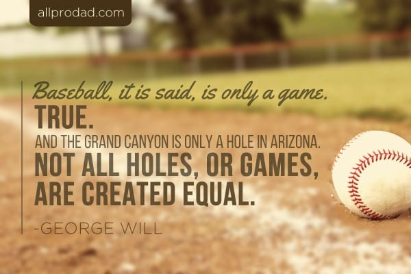 Baseball Life Quotes Glamorous 3 Life Lessons From Baseball  All Pro Dad  All Pro Dad