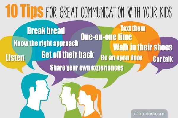 10 Tips for Great Communication with Your Kids