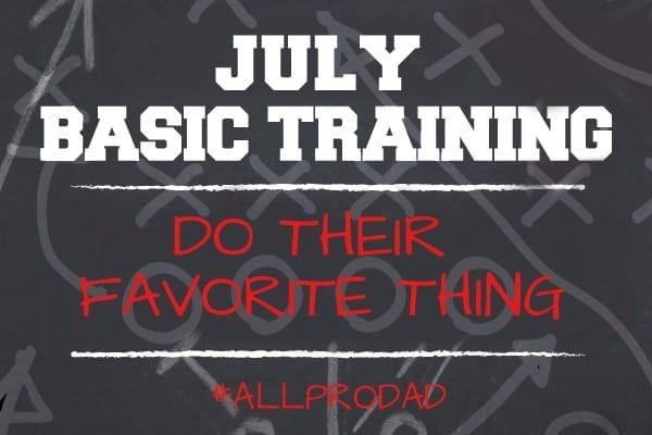 July Basic Training