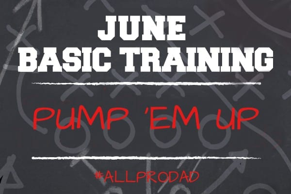 june basic training pump em up