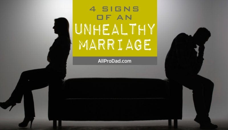 unhealthy marriage