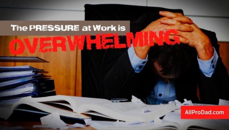 pressure at work