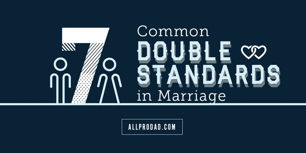 double standards in marriage