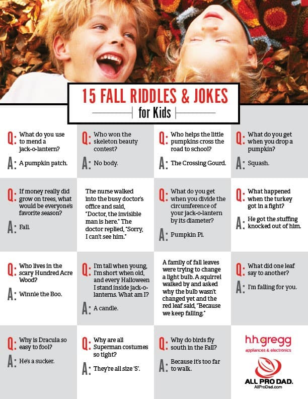 fall jokes and riddles