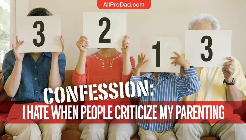 criticize my parenting