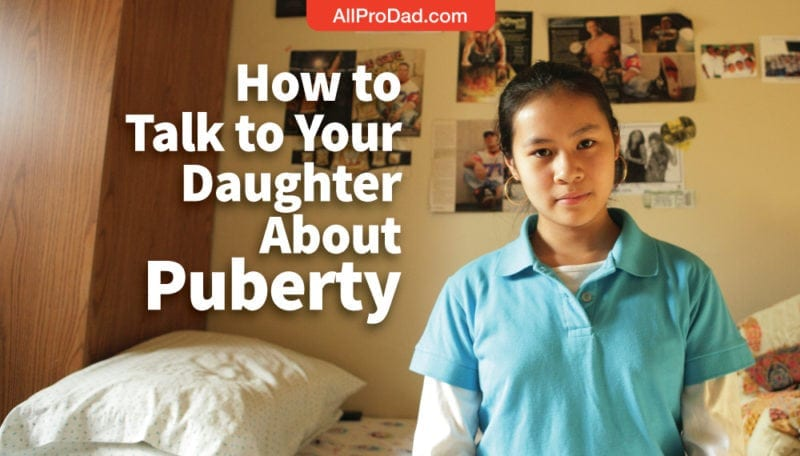 how to talk to your daughter about puberty