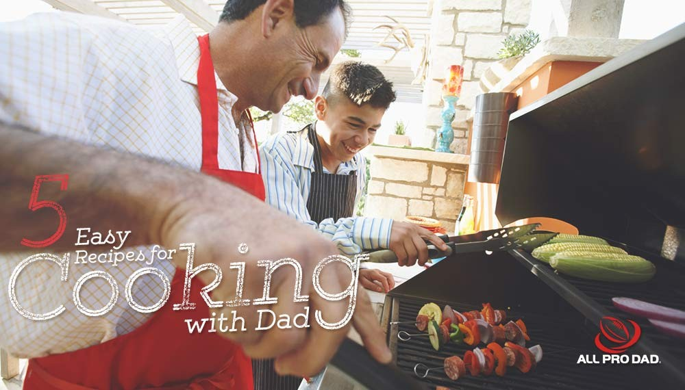 cooking with dad