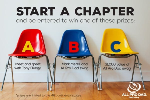 all pro dad start a chapter here