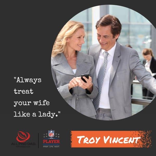 treat your wife like a lady