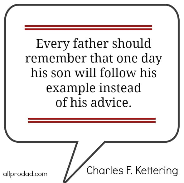 charles kettering fatherhood quote