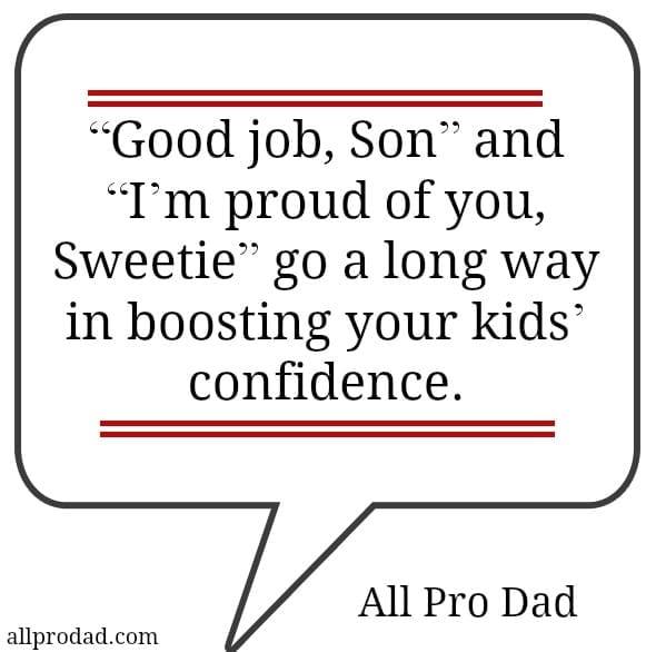 fatherhood confidence quote