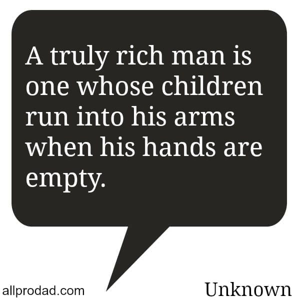 rich man quote