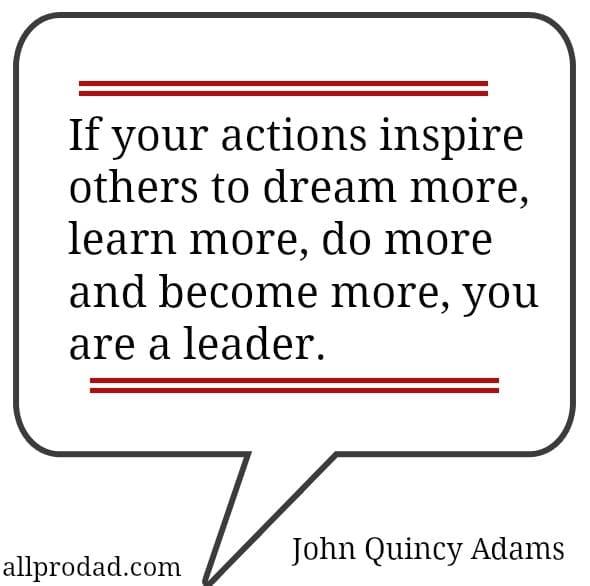john quincy adams actions quote