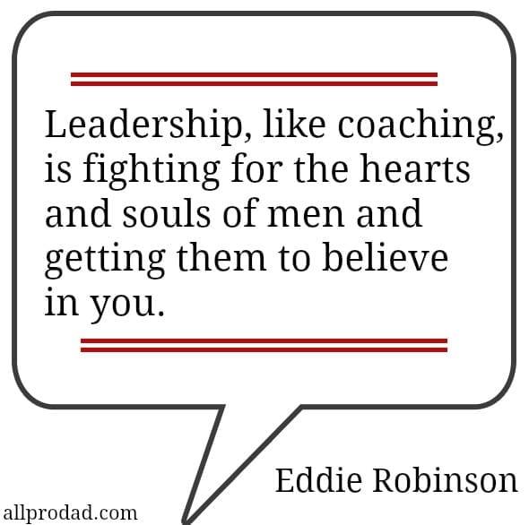 eddie robinson quote