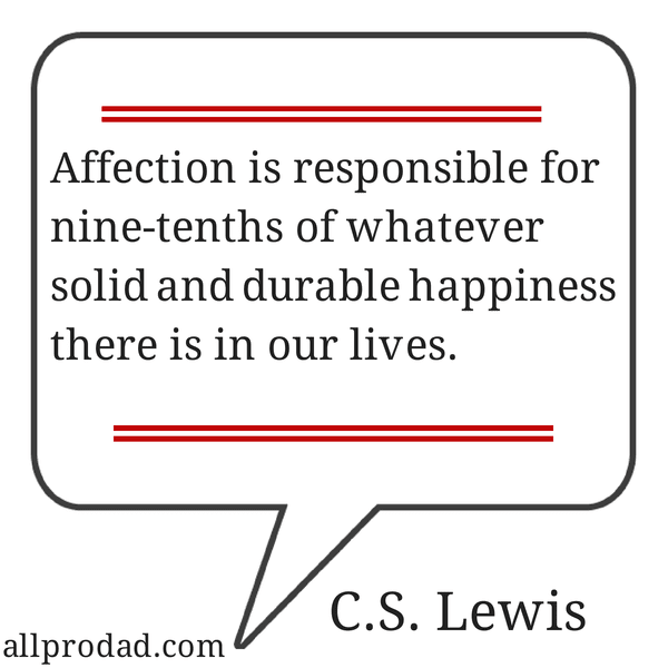 affection quote cs lewis