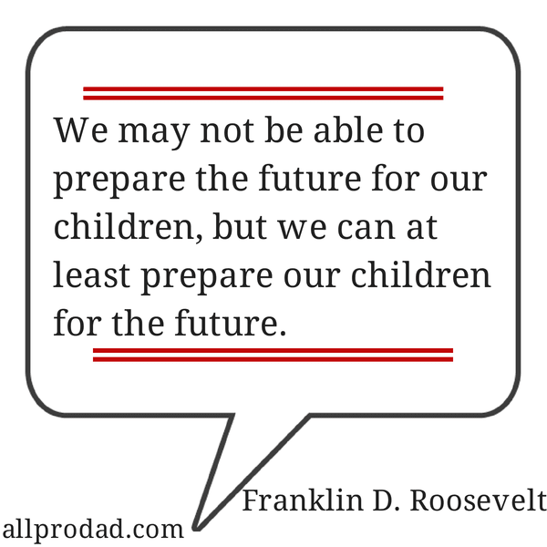 prepare our children franklin d roosevelt quote