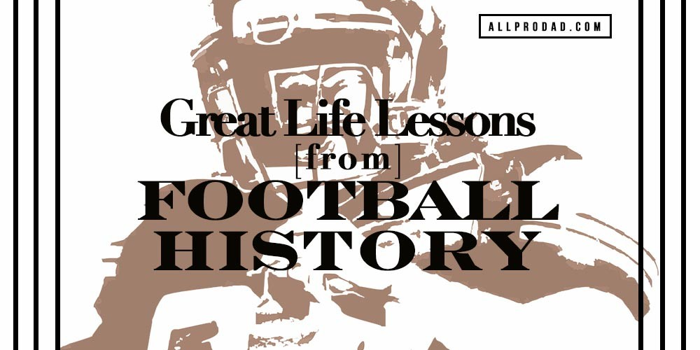 life lessons from football