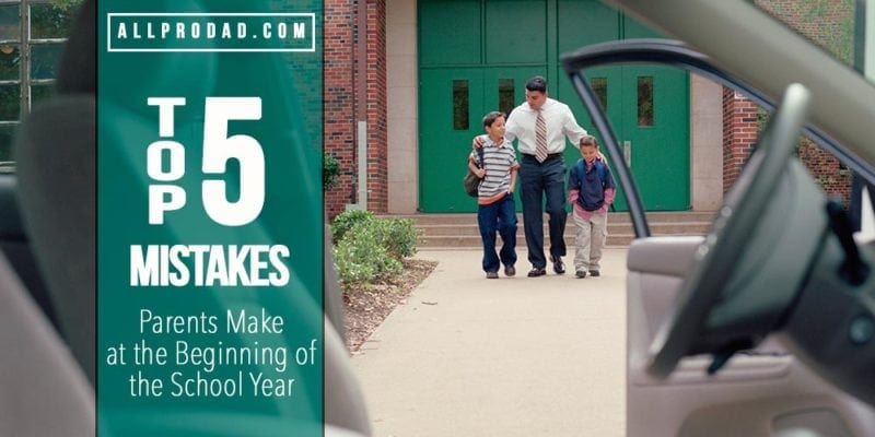 mistakes parents make