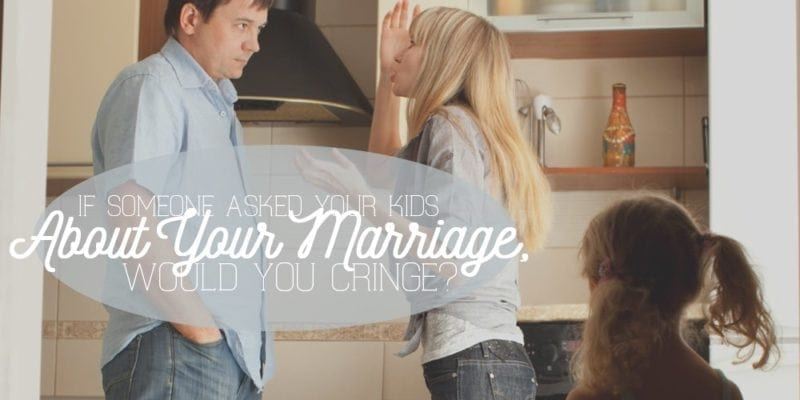 your kids and marriage