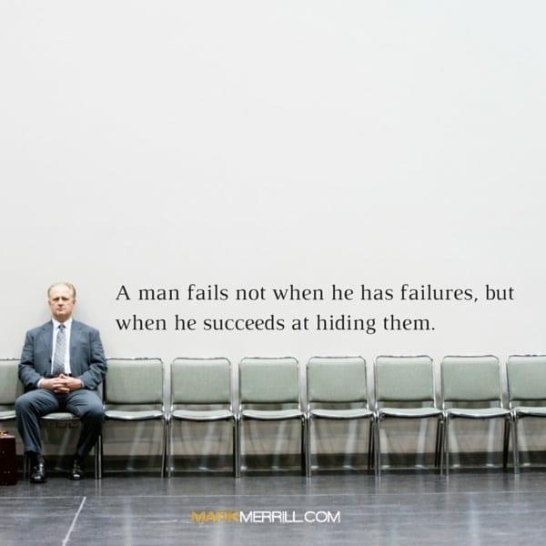 a man fails quote