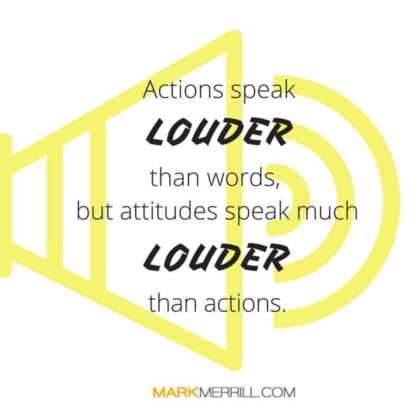 actions speak quote