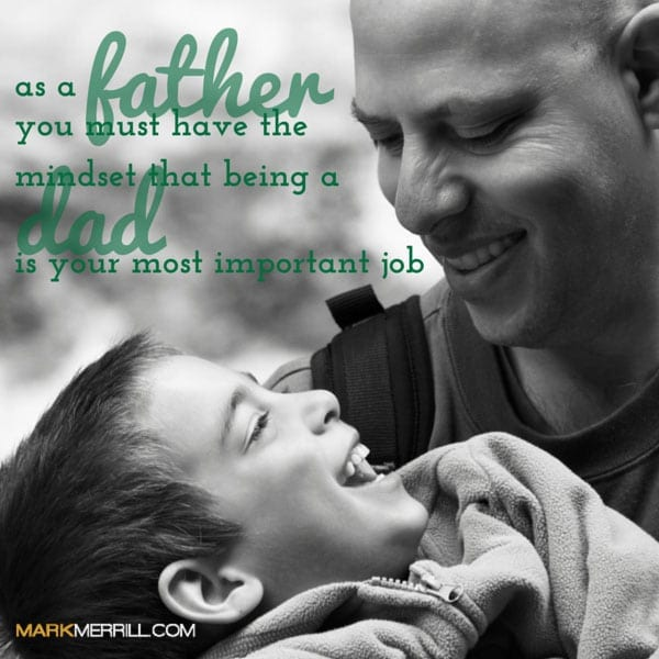 being a dad quote