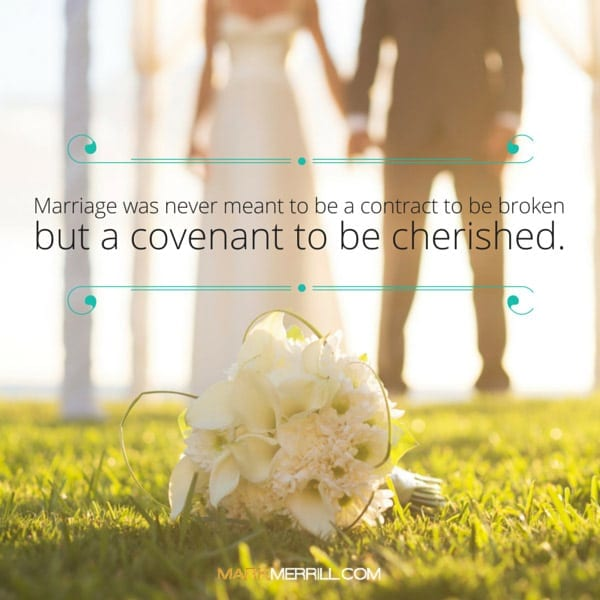 covenant to be cherished quote