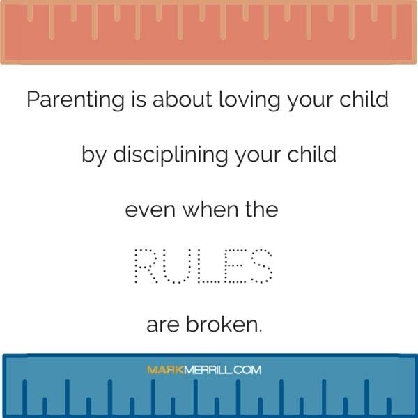 disciplining your children quote