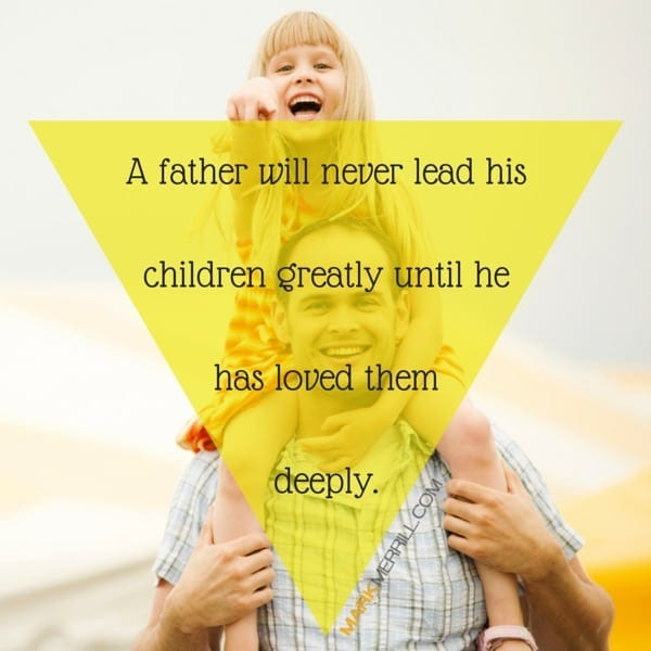 father lead his children quote