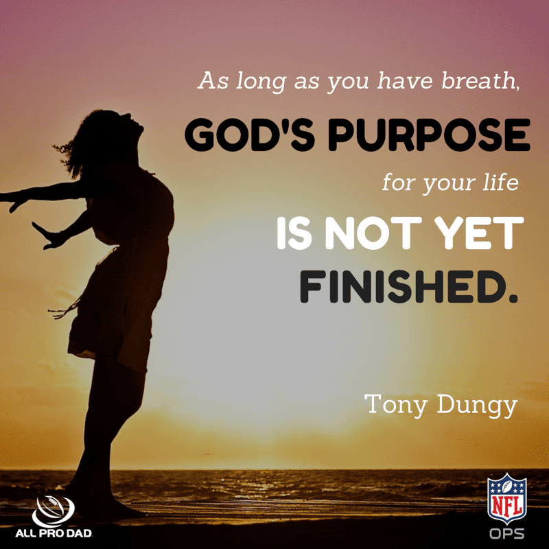 Gods purpose is not finished