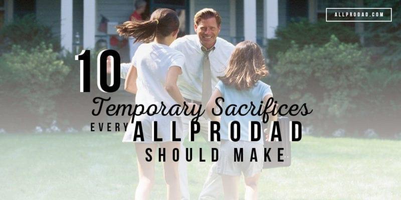how to sacrifice