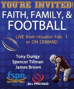 faith family and football