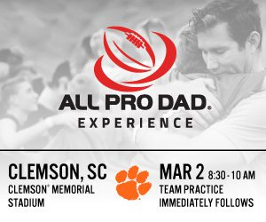 All Pro Dad Clemson
