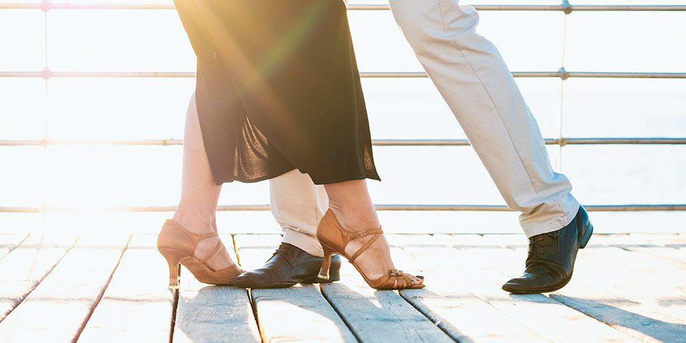 take wife dancing