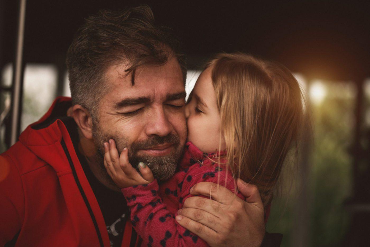raising a child as a single father